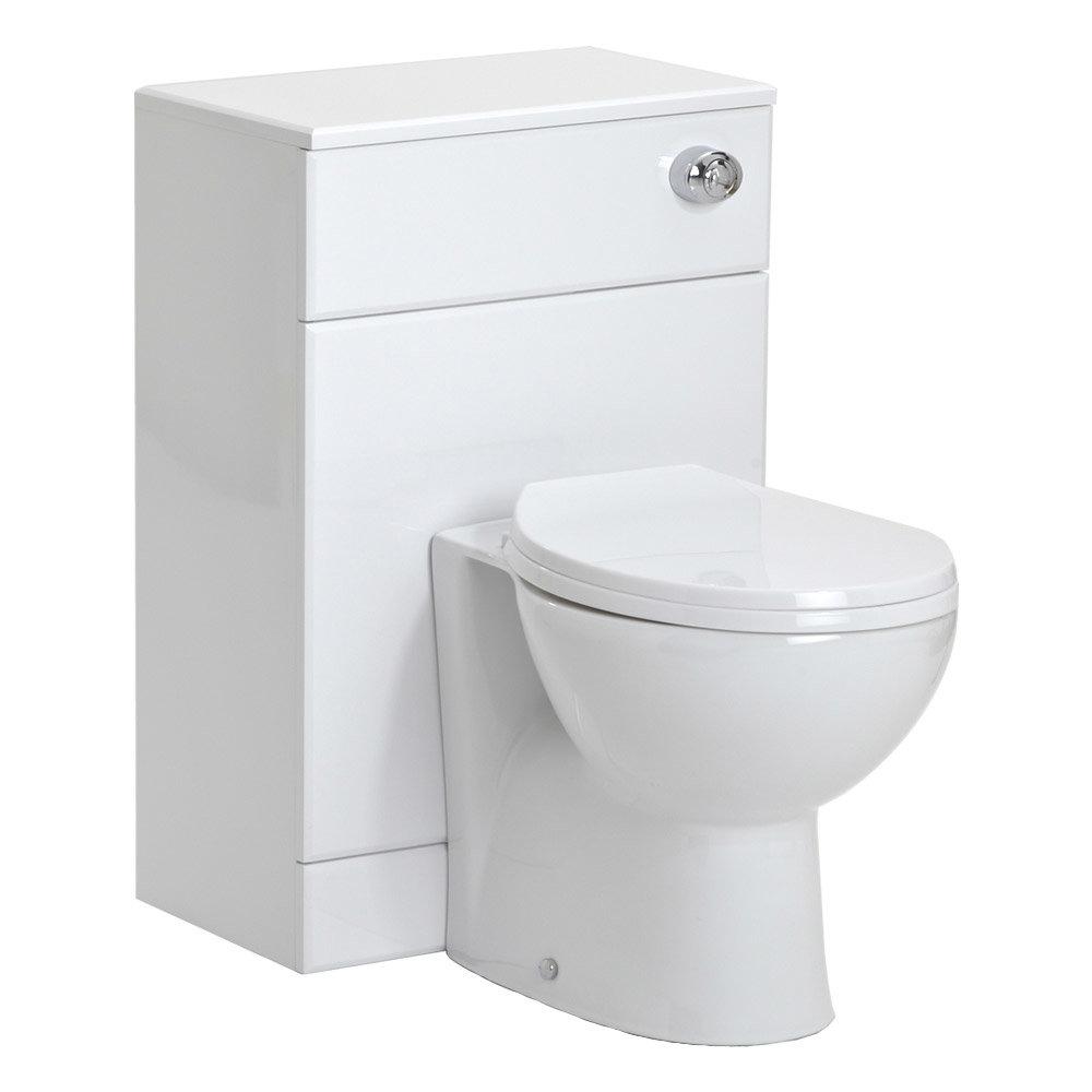 Alaska 1850mm Double Basin Vanity Unit Suite (High Gloss White - Depth 300mm) Feature Large Image