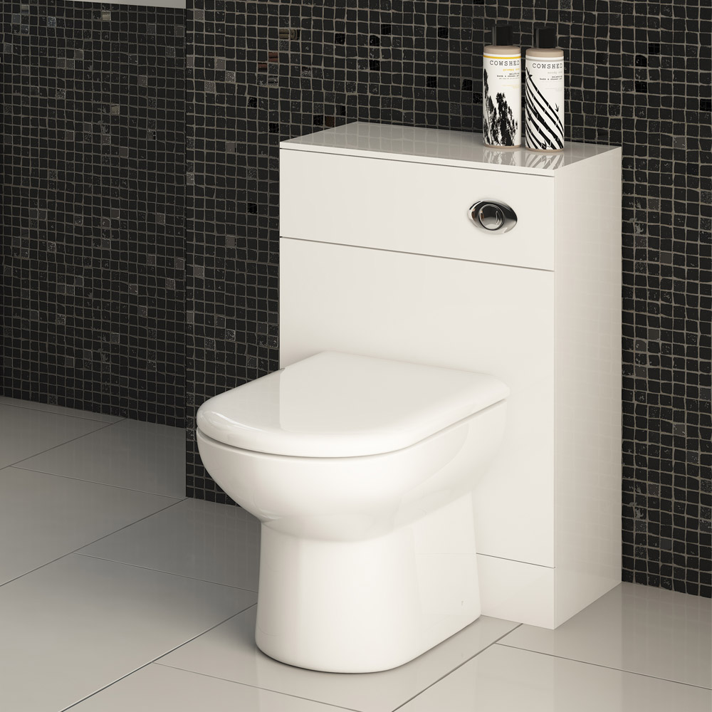 Alaska BTW Toilet Unit Inc. Cistern + Soft Close Seat (Depth 300mm) profile large image view 2