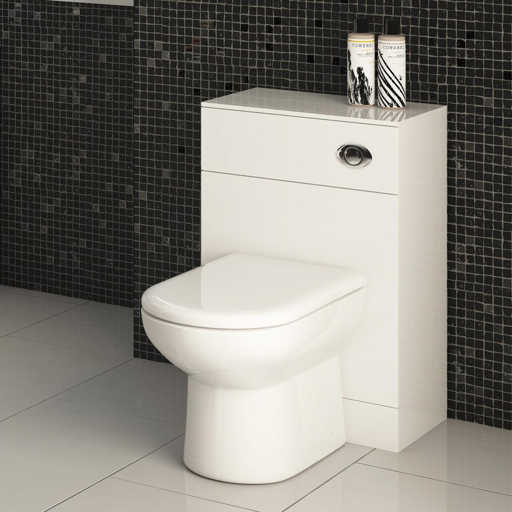 Alaska BTW Toilet Unit Inc. Cistern + Soft Close Seat (Depth 330mm) profile large image view 2