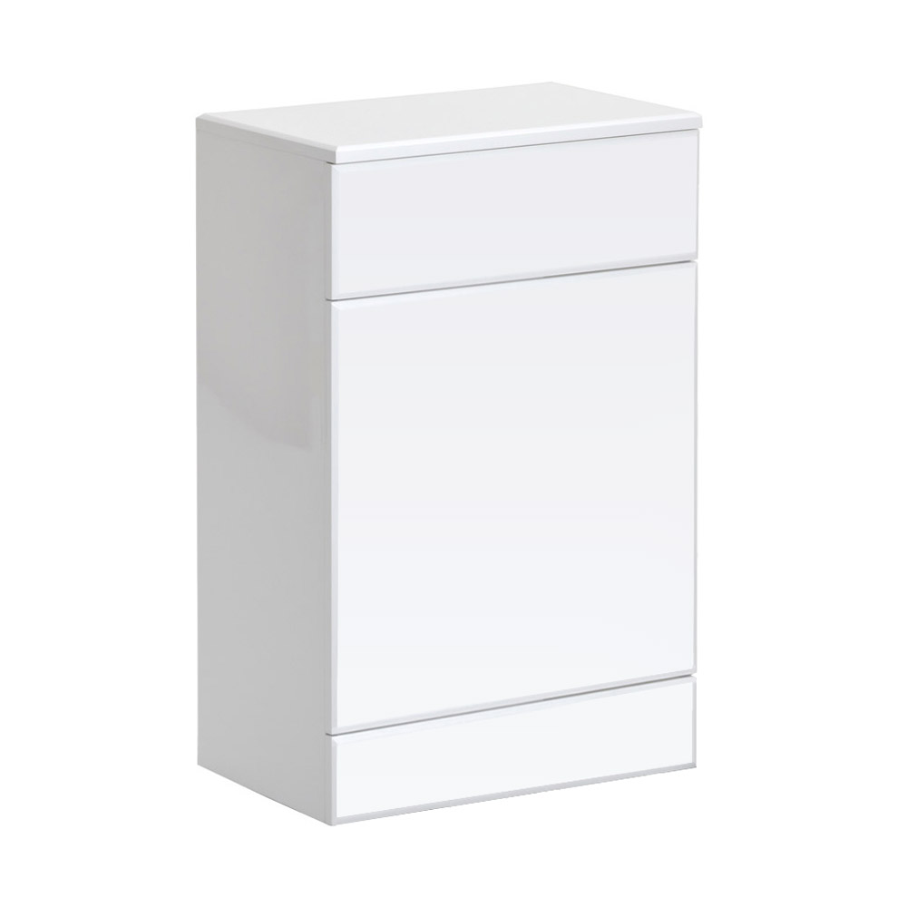 Alaska BTW WC Unit (High Gloss White - Depth 300mm) - 2 Size Options Large Image