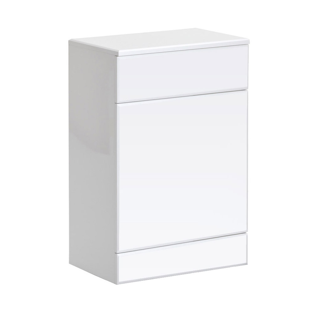 Alaska BTW WC Unit (High Gloss White - Depth 330mm) - 2 Size Options profile large image view 1