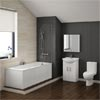 Alaska Vanity Bathroom Suite Inc. 1700mm Bath profile small image view 1