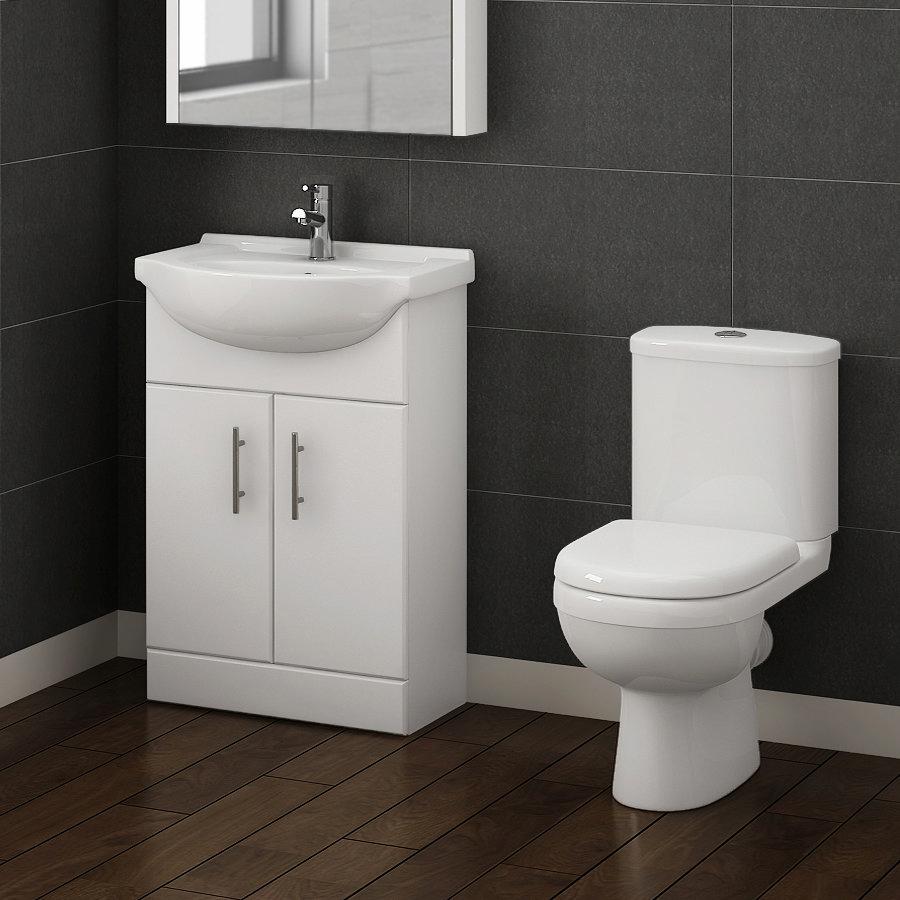 Alaska Vanity Unit & Toilet Suite Large Image