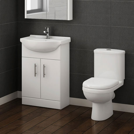 Alaska Vanity Unit & Toilet Suite