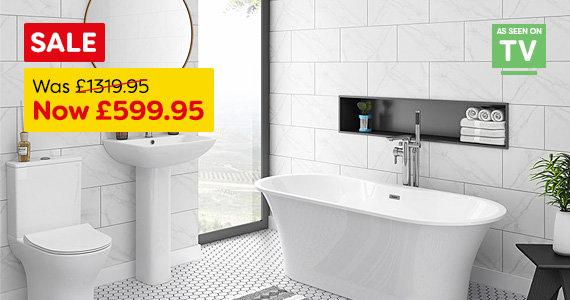 Alps Free Standing Bathroom Suite
