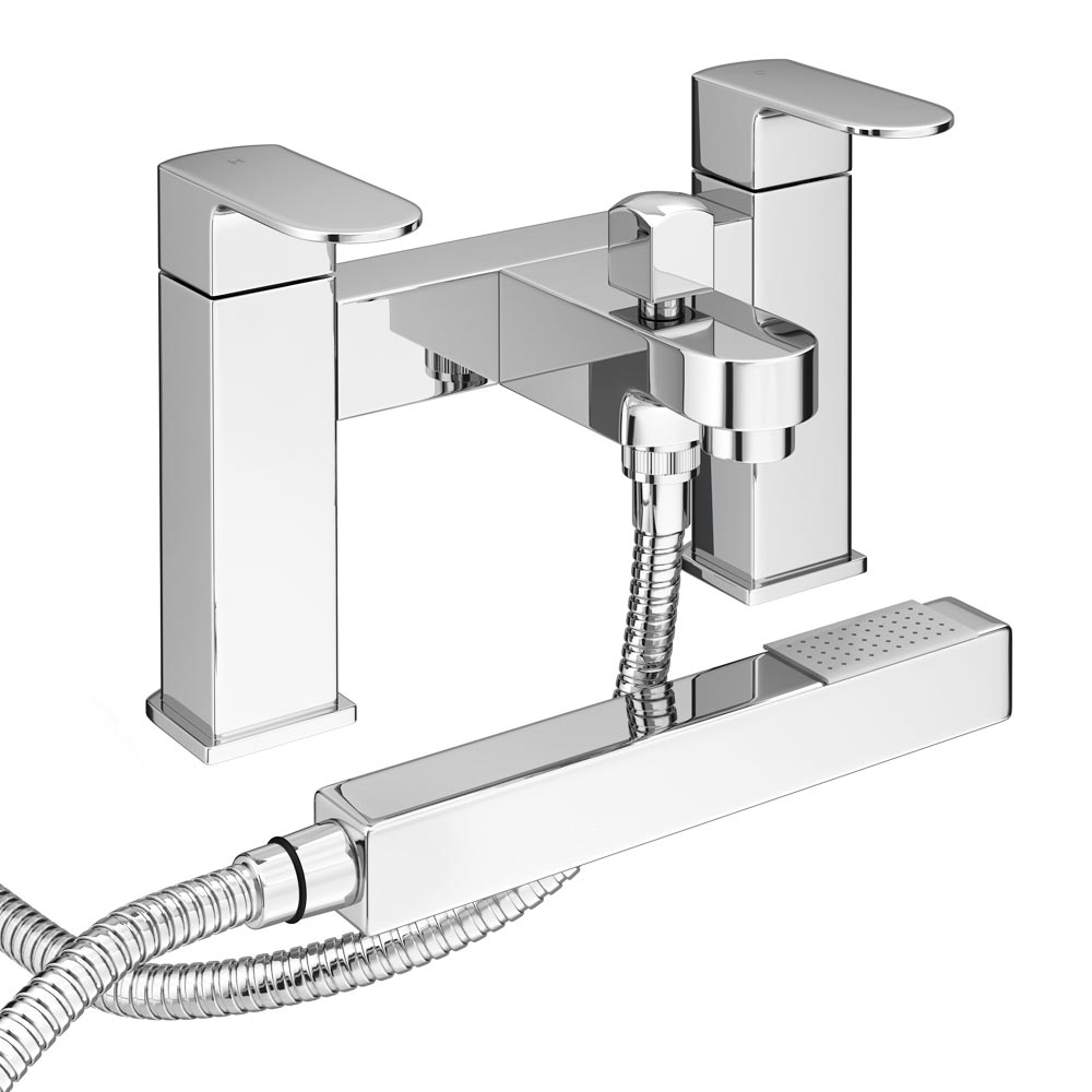 Amos Modern Bath Shower Mixer inc Shower Kit Large Image