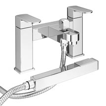 Amos Modern Bath Shower Mixer inc Shower Kit Medium Image