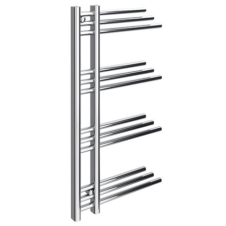 Angelo Designer Heated Towel Rail W500 x H900mm - Chrome