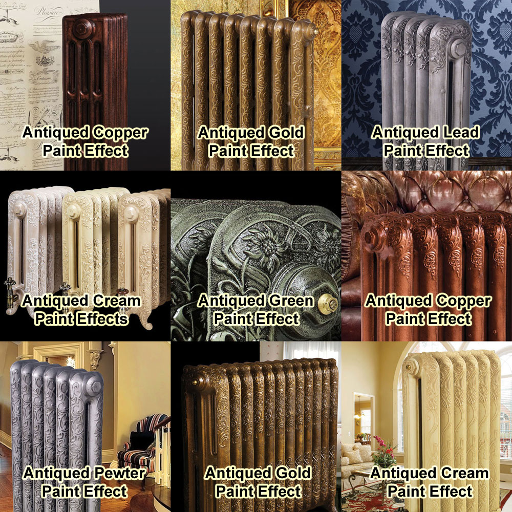 Paladin Piccadilly Cast Iron Radiator (460mm High) Feature Large Image