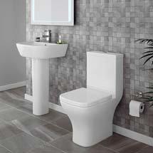 Apollo 4-Piece Modern Bathroom Suite Medium Image