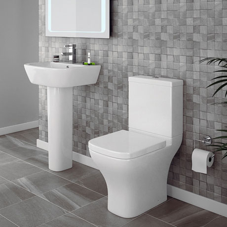 Apollo 4-Piece Modern Bathroom Suite