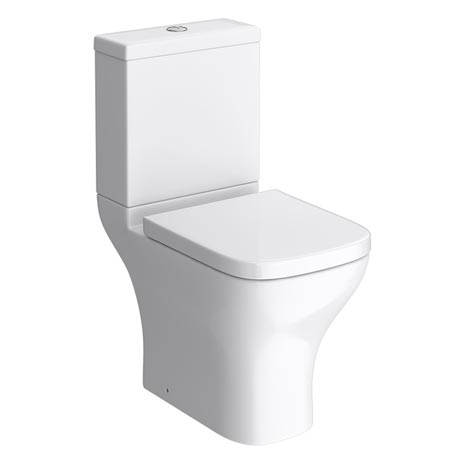 Apollo Modern Short Projection Toilet Inc. Soft Close Seat
