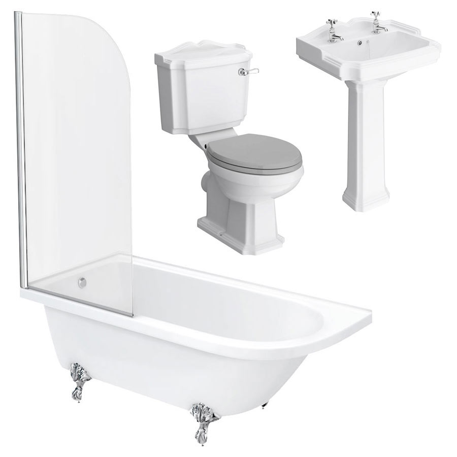 Appleby LH Traditional Bathroom Suite profile large image view 5
