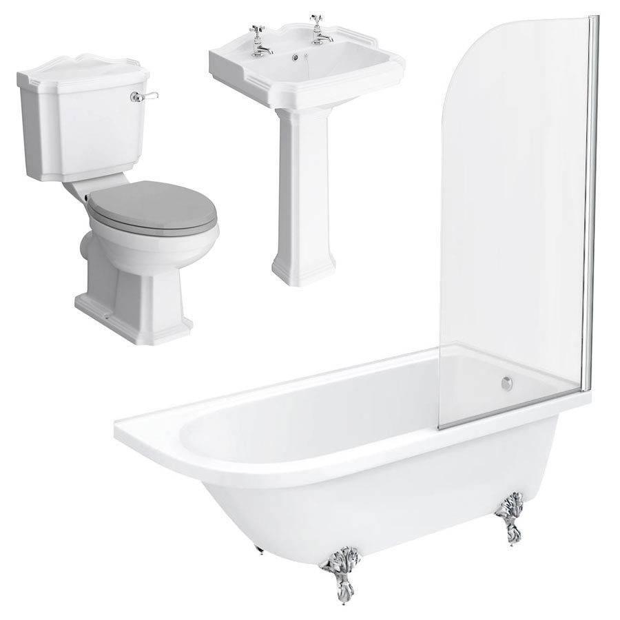 Appleby RH Traditional Bathroom Suite profile large image view 5