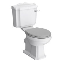 Appleby Traditional Close Coupled Toilet + Soft Close Seat Medium Image