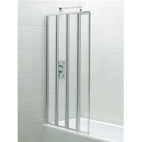 April - Identiti2 Four Panel Folding Bath Screen - AP9576S