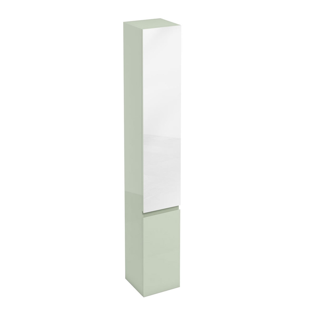 Aqua Cabinets - H1900mm x D300mm Tall Unit with Mirror - Reef Large Image