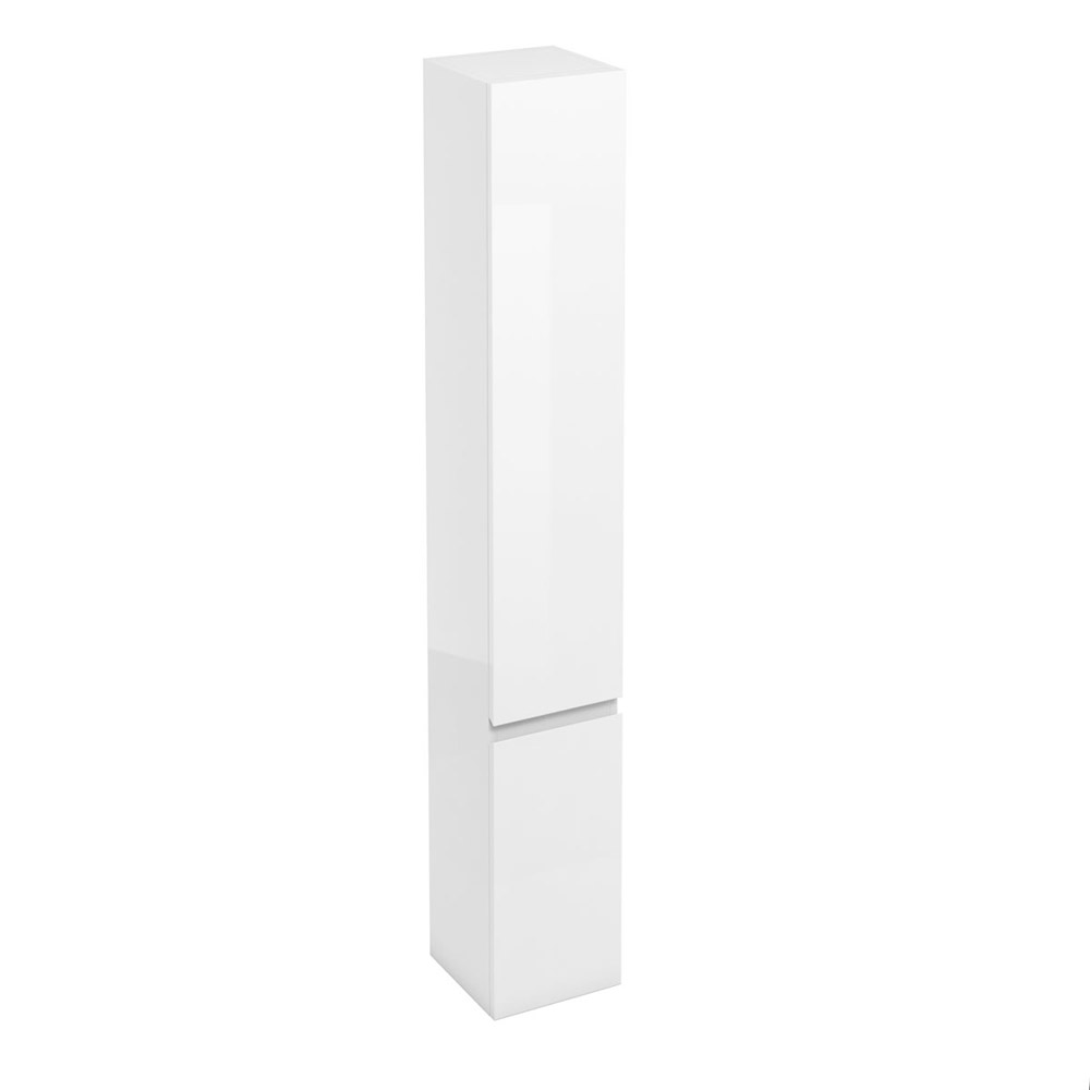 Aqua Cabinets - H1900mm x D300mm Tall Unit - White Large Image