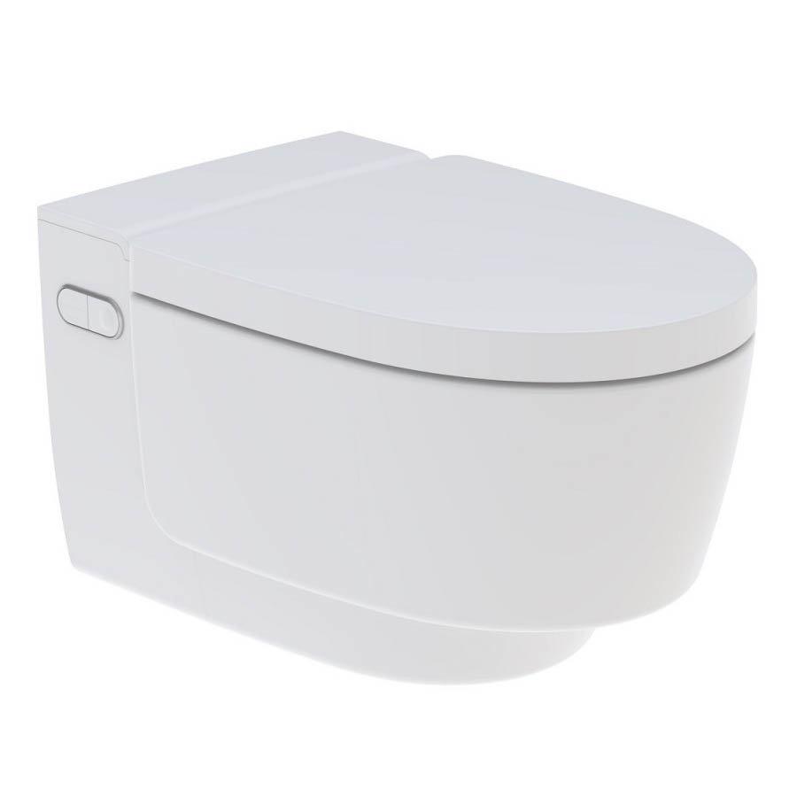 Geberit AquaClean Alpine White Mera Classic Rimless Wall Hung Shower WC