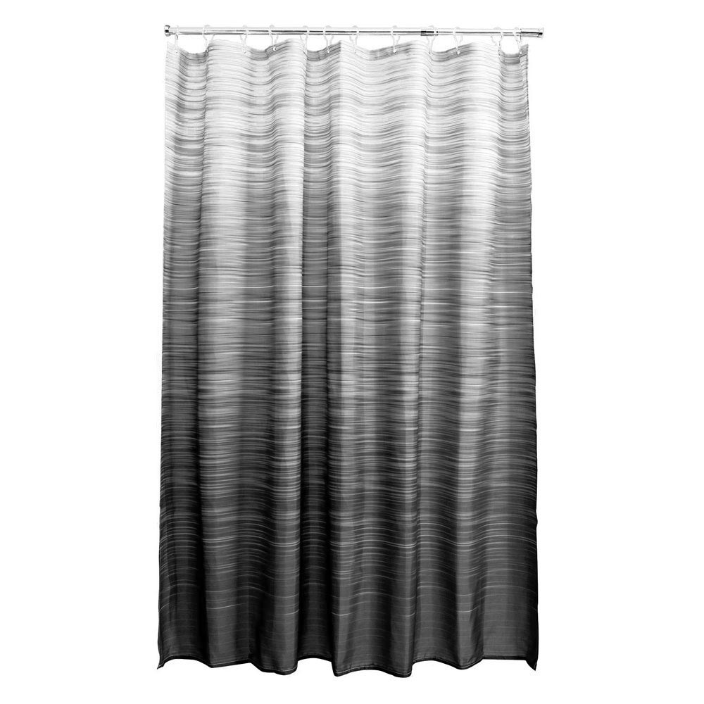 Aqualona Eclipse Polyester Shower Curtain - W1800 x H1800mm - 46487 Large Image