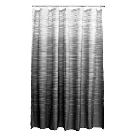 Aqualona Eclipse Polyester Shower Curtain - W1800 x H1800mm - 46487