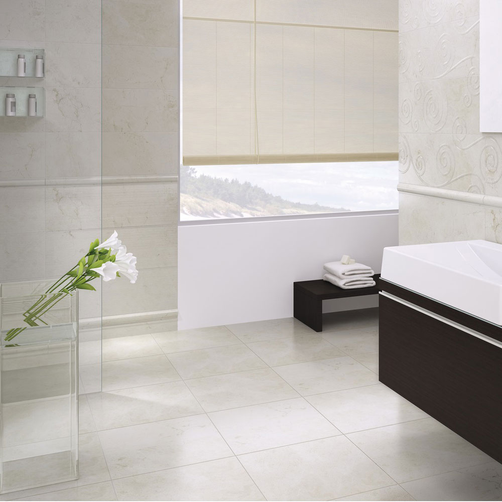 Aragon Cream Wall Tiles Profile Large Image