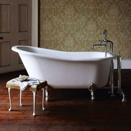 Arcade Sackville Natural Stone Bath with Traditional Legs - 1690 x 750mm
