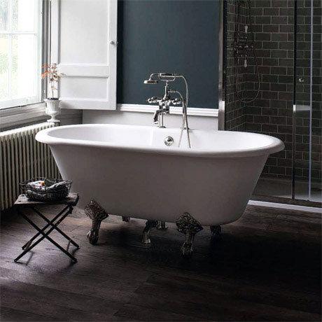 Arcade Vigo Freestanding Natural Stone Bath with Traditional Legs - 1690 x 800mm