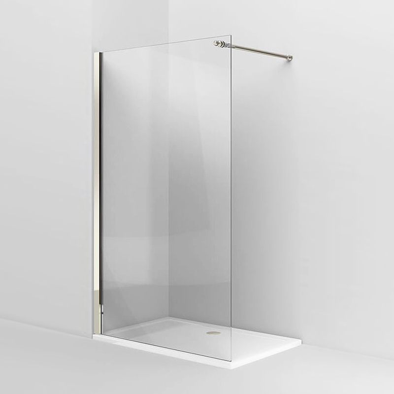 Arcade Walk In Shower Screen Nickel 3 X Size Options