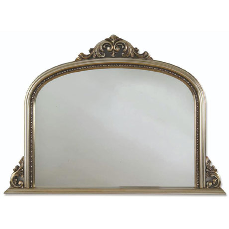Heritage Archway Mirror (1270 x 910mm) - Champagne Silver