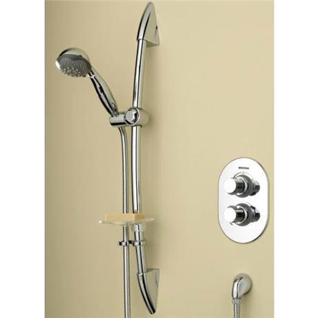 Bristan - Artisan Thermostatic Recessed Shower Valve w/ Adjustable Riser