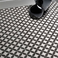 Aspect Patterned Floor Tiles