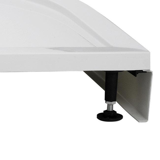 Aurora Pearlstone Rectangular Shower Tray & Riser Kit Standard Large Image