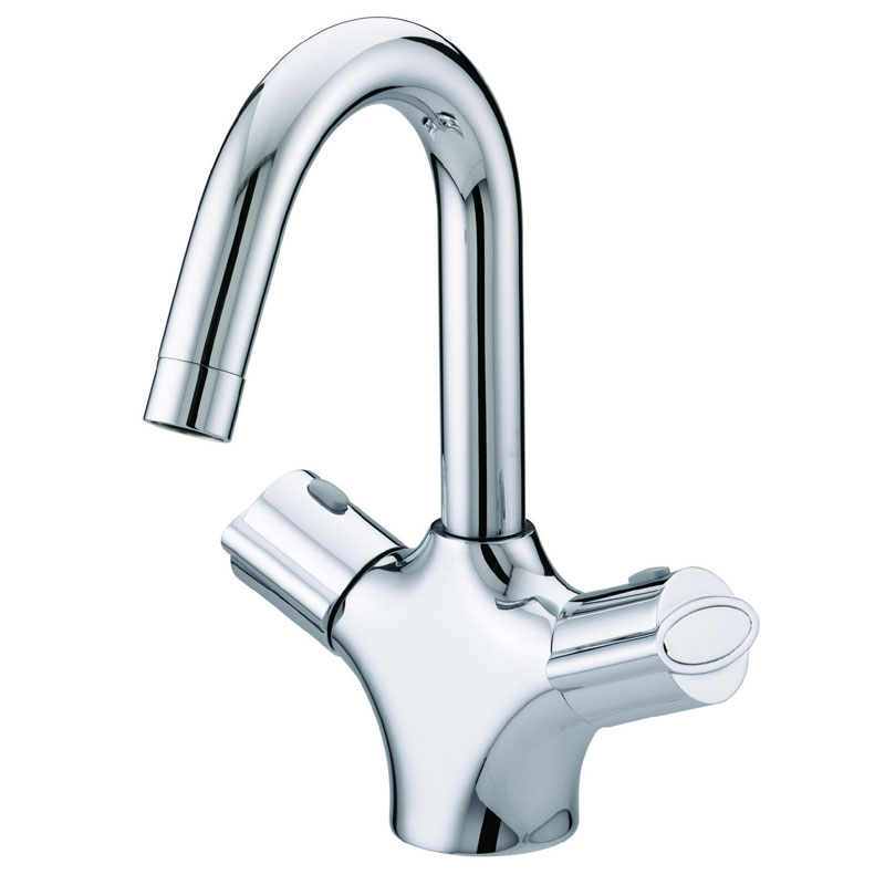 Bristan - Assure Thermostatic Basin Mixer (no waste) - Chrome - AS-THBAS-C Large Image