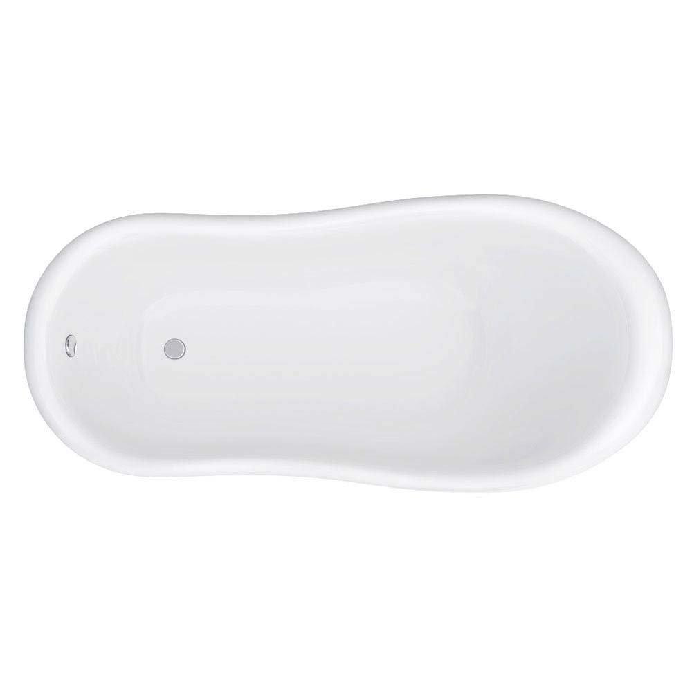 Astoria Blue 1710 Roll Top Slipper Bath w. Ball + Claw Leg Set  Feature Large Image