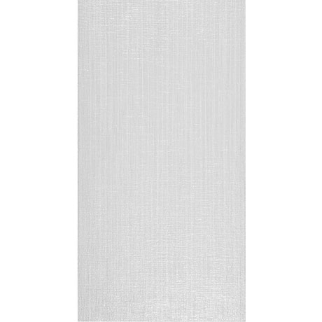 Attica White Textured Gloss Wall Tile - 31.6 x 60cm