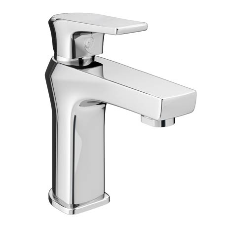Aurora Modern Basin Tap inc Waste - Chrome