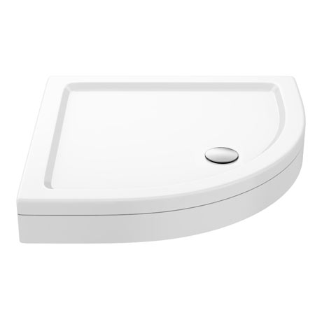 Aurora Stone Quadrant Shower Tray + Riser Kit