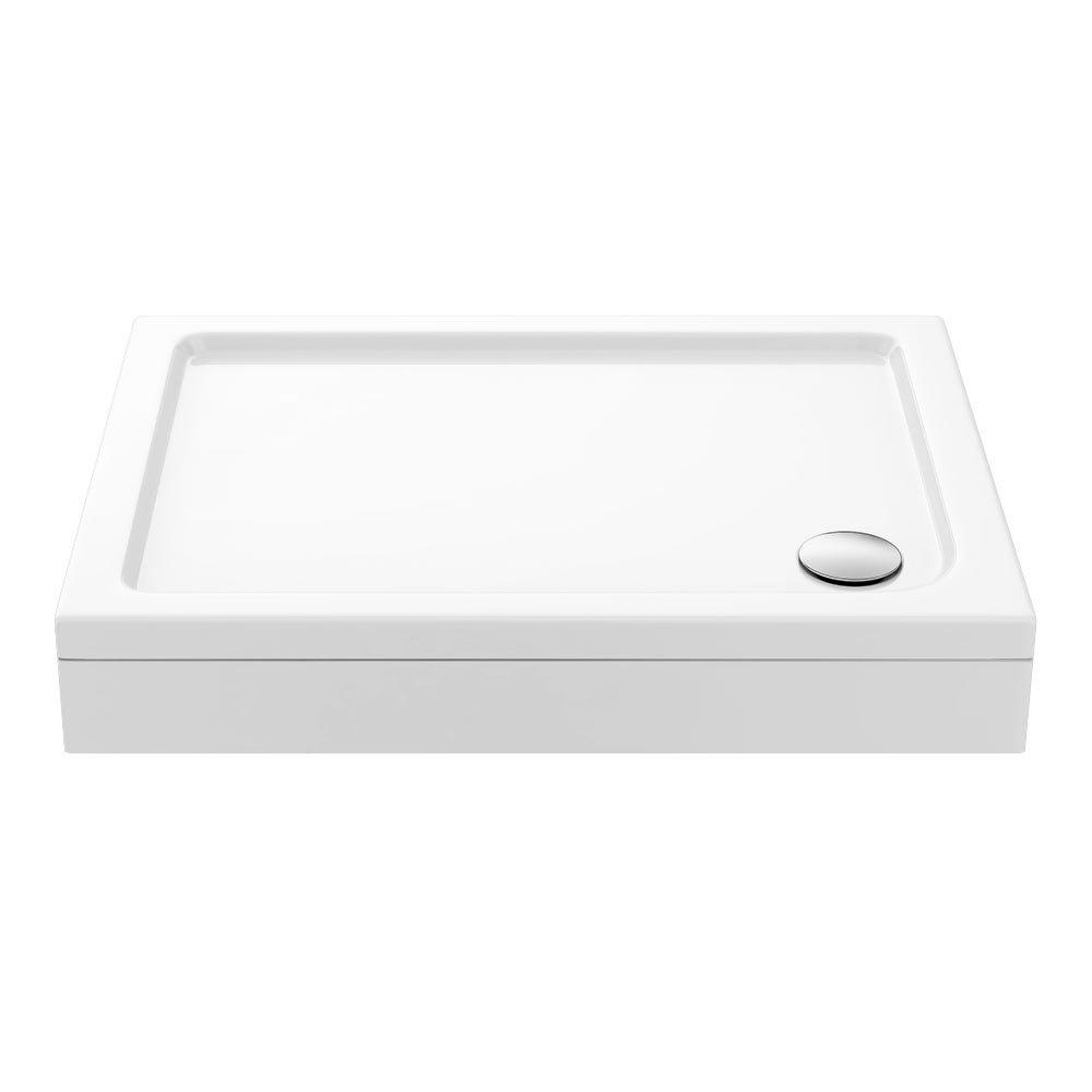 Aurora Stone Rectangular Shower Tray + Riser Kit