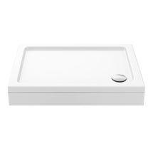 Aurora Pearlstone Rectangular Shower Tray + Riser Kit Medium Image
