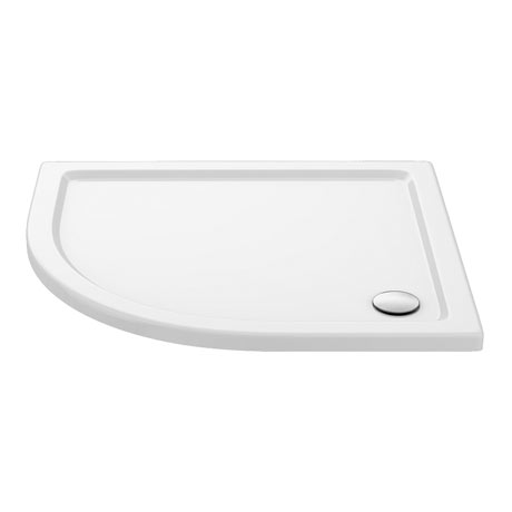 Aurora Stone LH Offset Quadrant Shower Tray