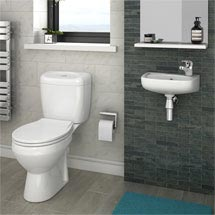 Avon Compact Cloakroom Suite Medium Image