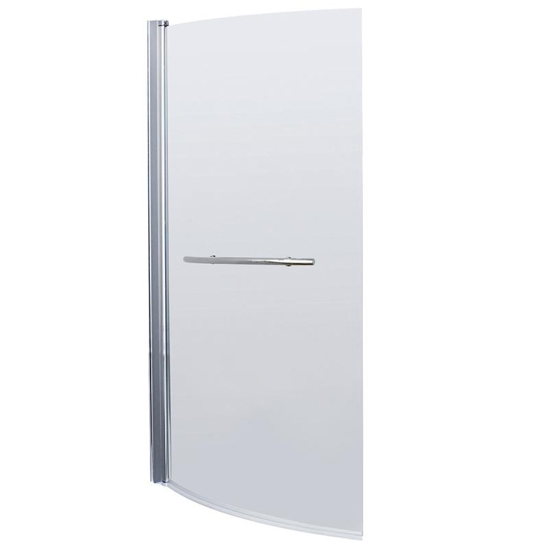 Cruze B Shaped Shower Bath - 1700mm Inc. Screen with Rail & Panel Feature Large Image