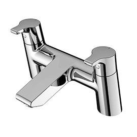 Idea Standard Senses Cube Bath Filler - Chrome - B0166AA