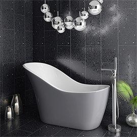 Vienna Silver 1520 Small Modern Slipper Bath