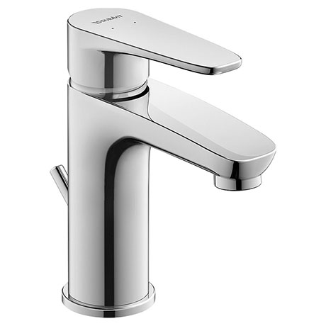 Duravit B.1 S-Size Single Lever Basin Mixer with Pop-up Waste - B11010001010