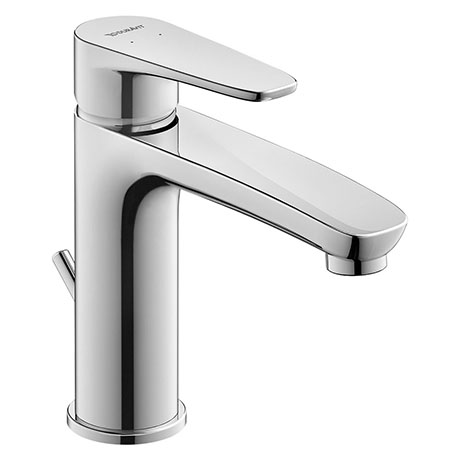 Duravit B.1 M-Size Single Lever Basin Mixer with Pop-up Waste - B11020001010