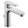 Duravit B.1 M-Size Single Lever Basin Mixer with Pop-up Waste - B11020001010 profile small image view 1