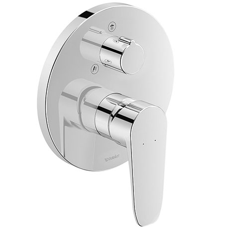 Duravit B.1 Single Lever Shower Mixer with Diverter for Concealed Installation - B14210012010