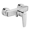 Duravit B.1 Wall Mounted Single Lever Shower Mixer - B14230000010 profile small image view 1